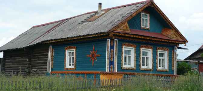 Visit to a Dacha – a Family Countryside House in Russia