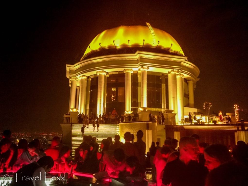 Sky Bar and the dome of the Lebua State Tower