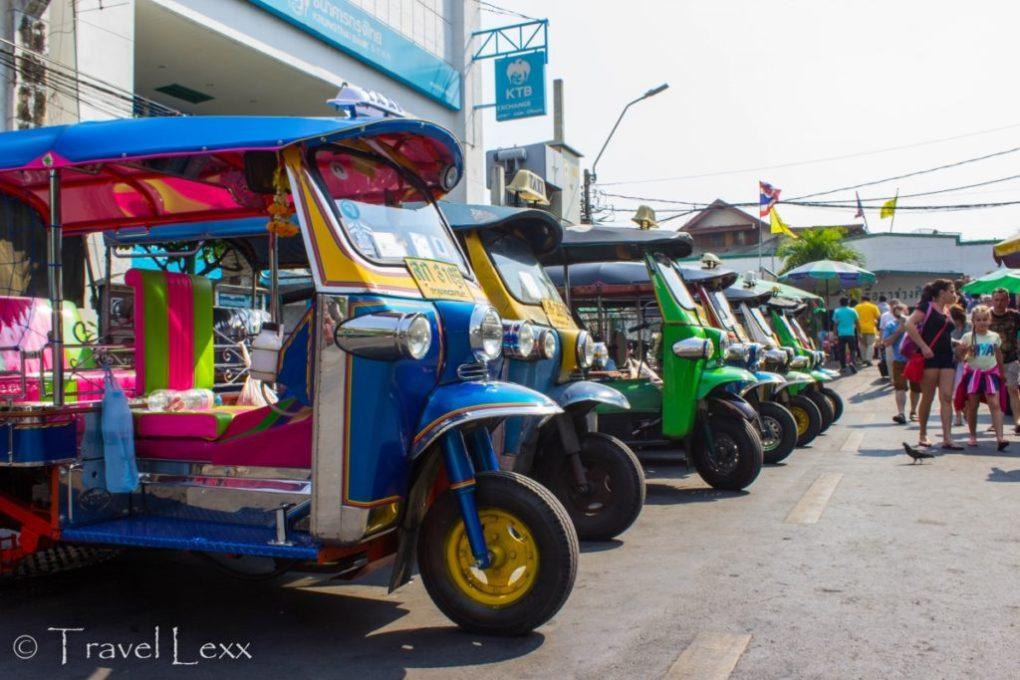 Tuk tuks, Bangkok