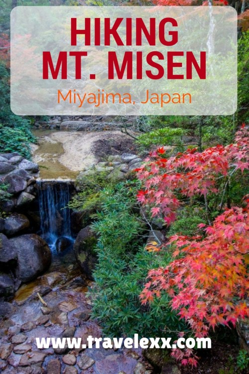 One of my favourite spots in Japan is the beautiful island of Miyajima. I had a great time exploring and attempting to hike up Mt. Misen - its highest peak.