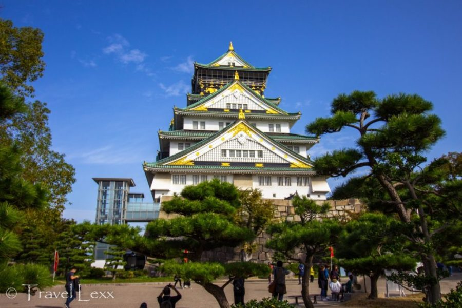 Osaka Castle - 20 Reasons Why You Shouldn't Travel To Japan