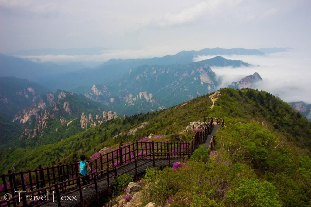 Seoraksan National Park - Korea hiking trails