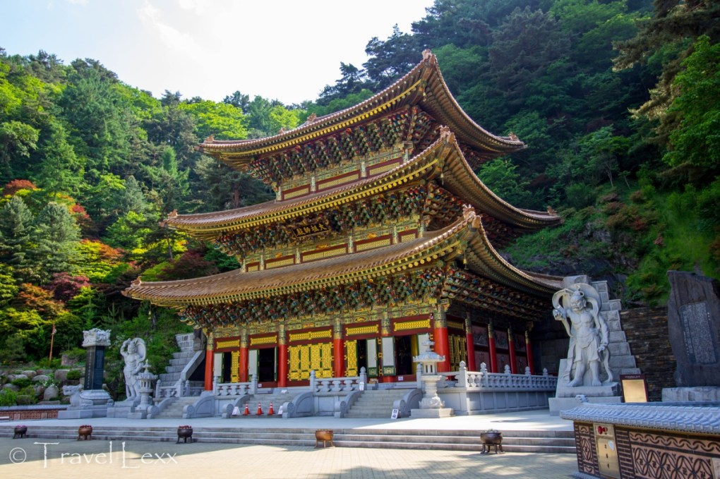 Guinsa Temple - Korea hiking trails