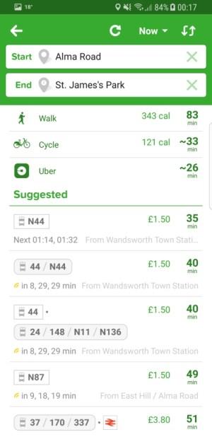 Travel Apps - Citymapper