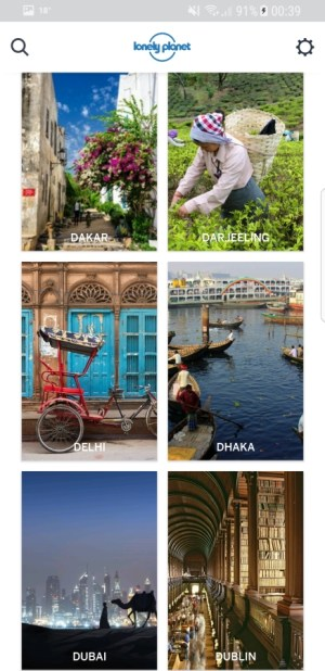 Travel Apps - Guides by Lonely Planet