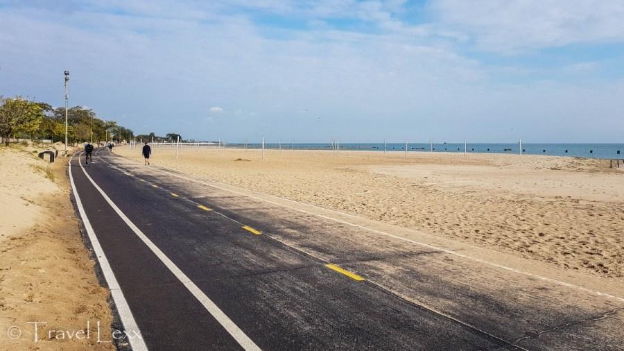 North Avenue Beach - Chicago Lakefront Trail