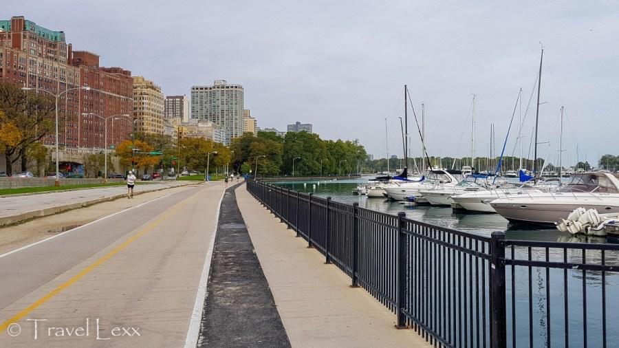 Belmont Harbor - Chicago Lakefront Trail