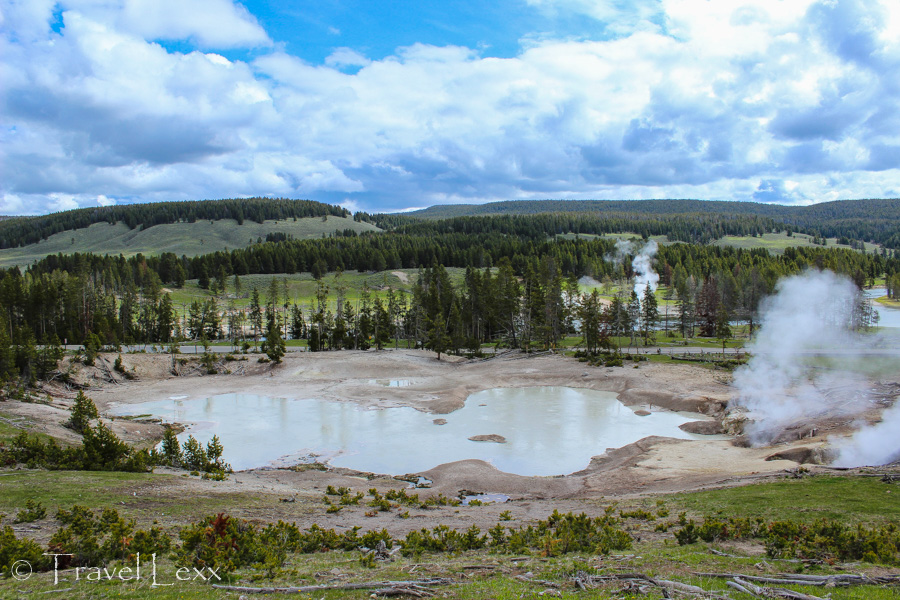 Mud Geyser - 8 Reasons You Should Visit Yellowstone National Park
