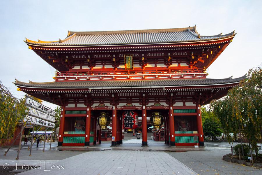 Hozomon Gate, Senso-ji - Things To Do in Tokyo