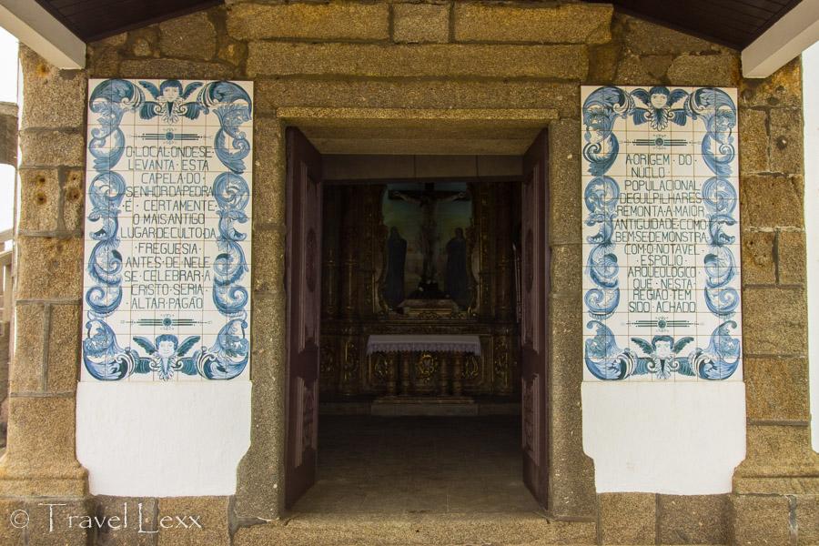 Azulejo tiles - Capela do Senhor da Pedra