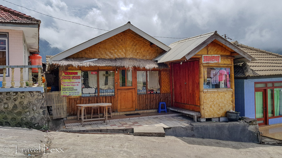 A small warung catering to visitors to Mount Bromo