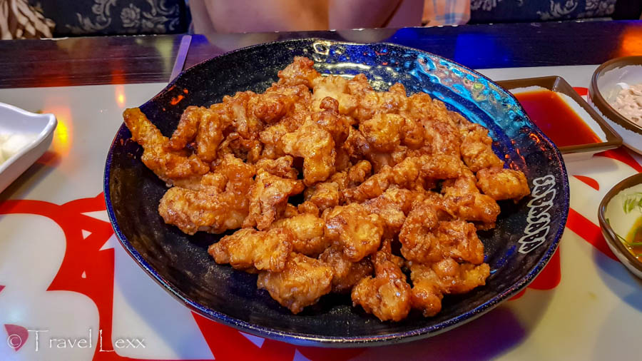 A plate of seasoned fried chicken is one of the top things to eat in South Korea