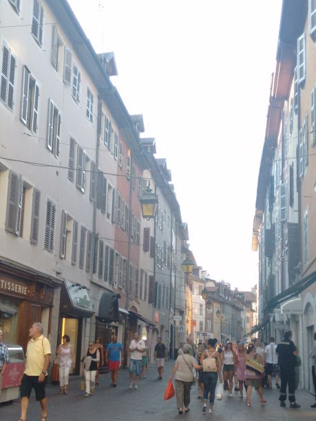 Market area, Annecy