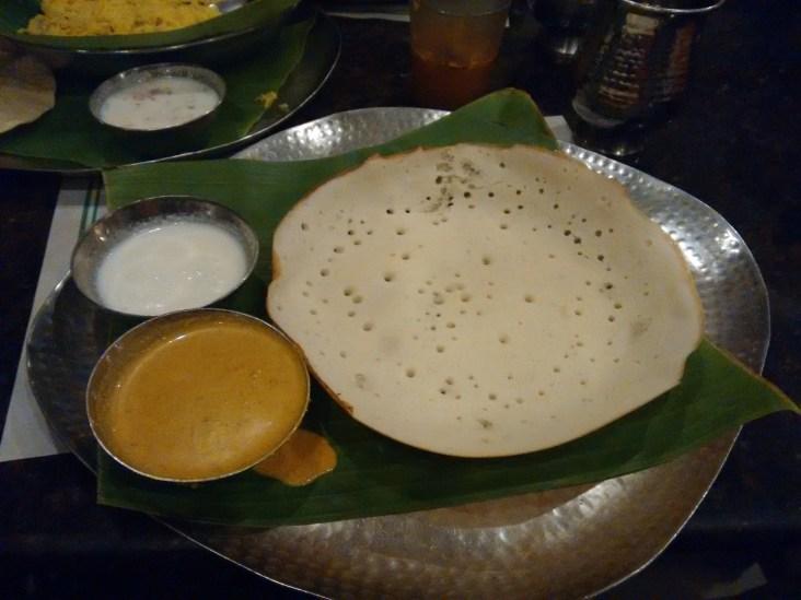 Appam with Kurma
