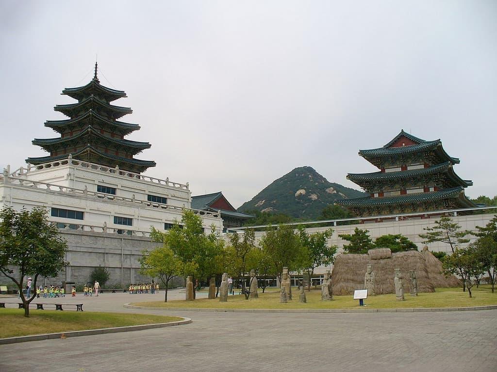 national folk museum korea photo