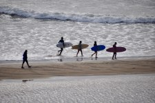 Surfers of Byron Bay