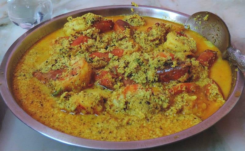 Chingri malai curry