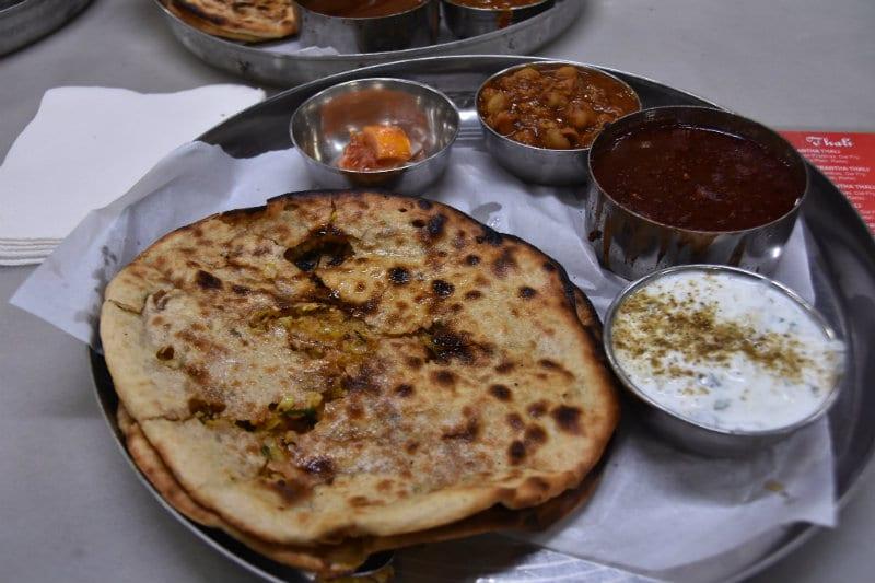 Bangladeshi paratha flatbread