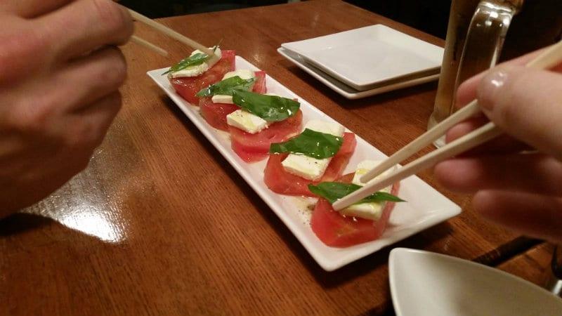 Italian food found in Japan