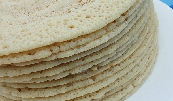 Canjeero/Anjero recipe (Somalian injera) | Somalia