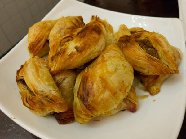 Pastizzi is a Maltese stuffed croissant
