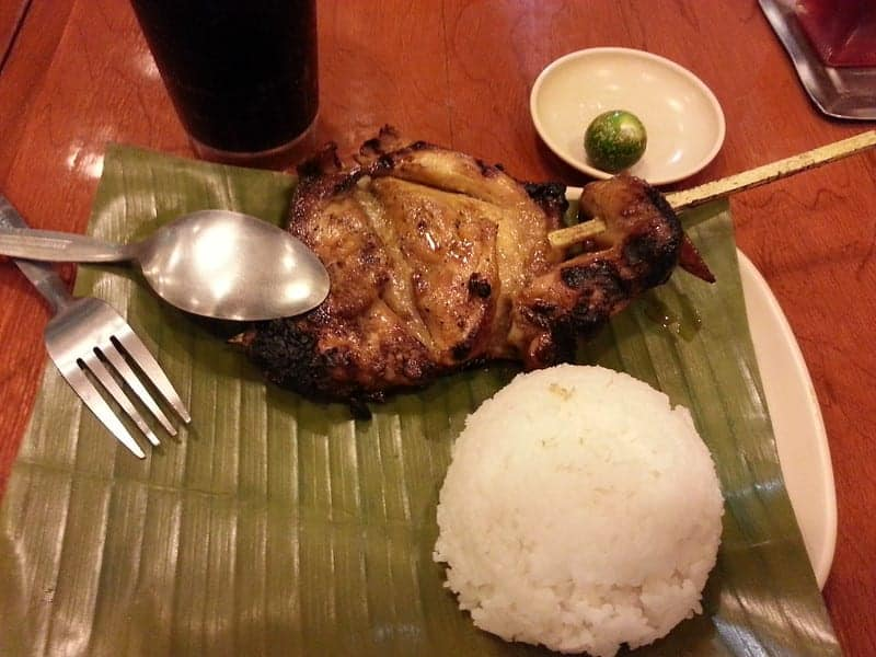 Inasal with rice