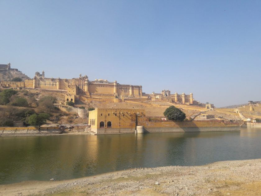 Front View of Amer Fort