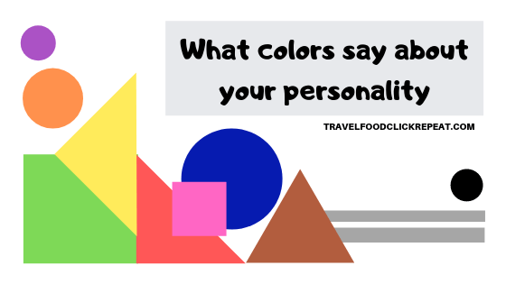 What Colors say about your Personality