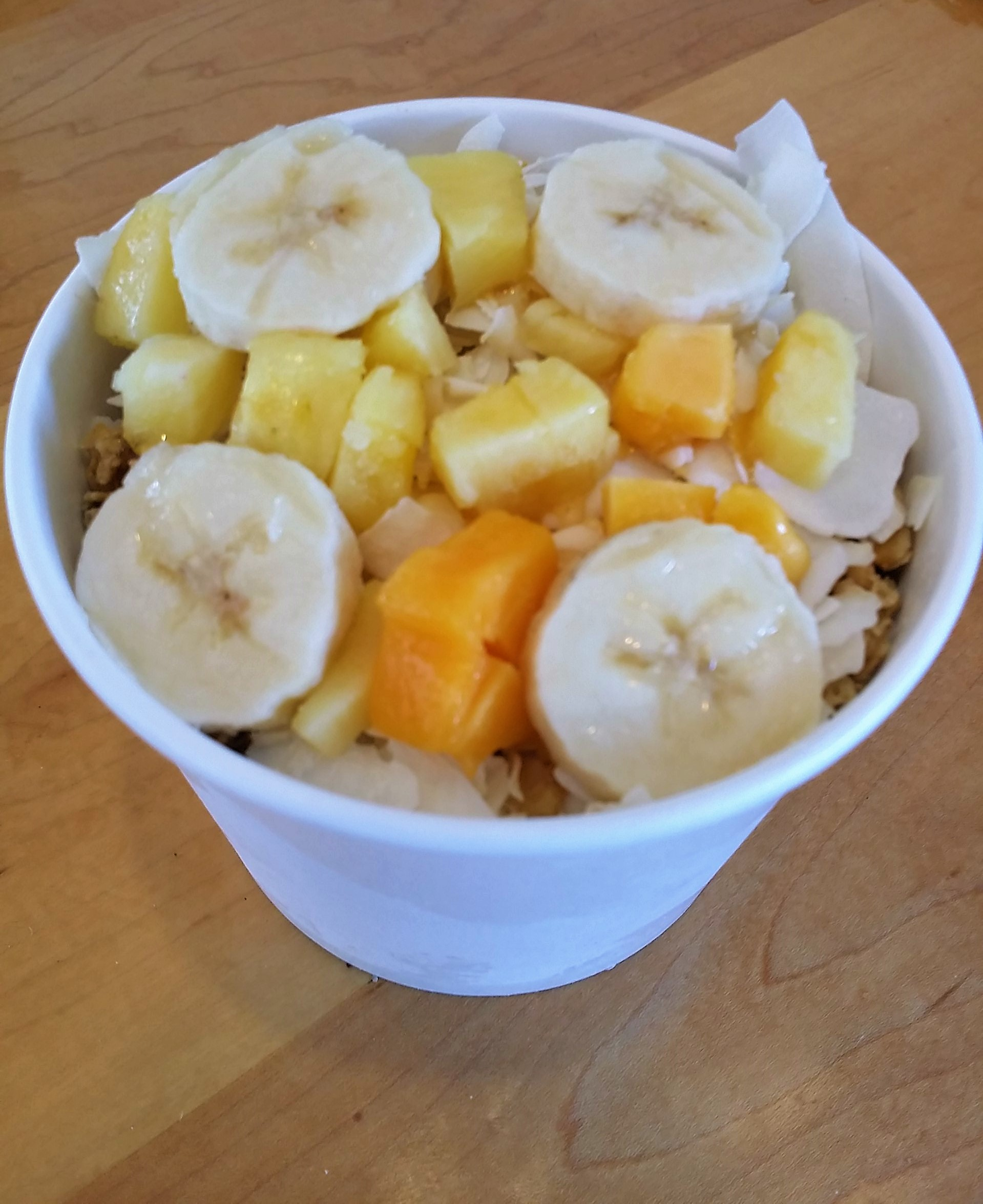 Tropical Acai Bowl from Genuine Fresche