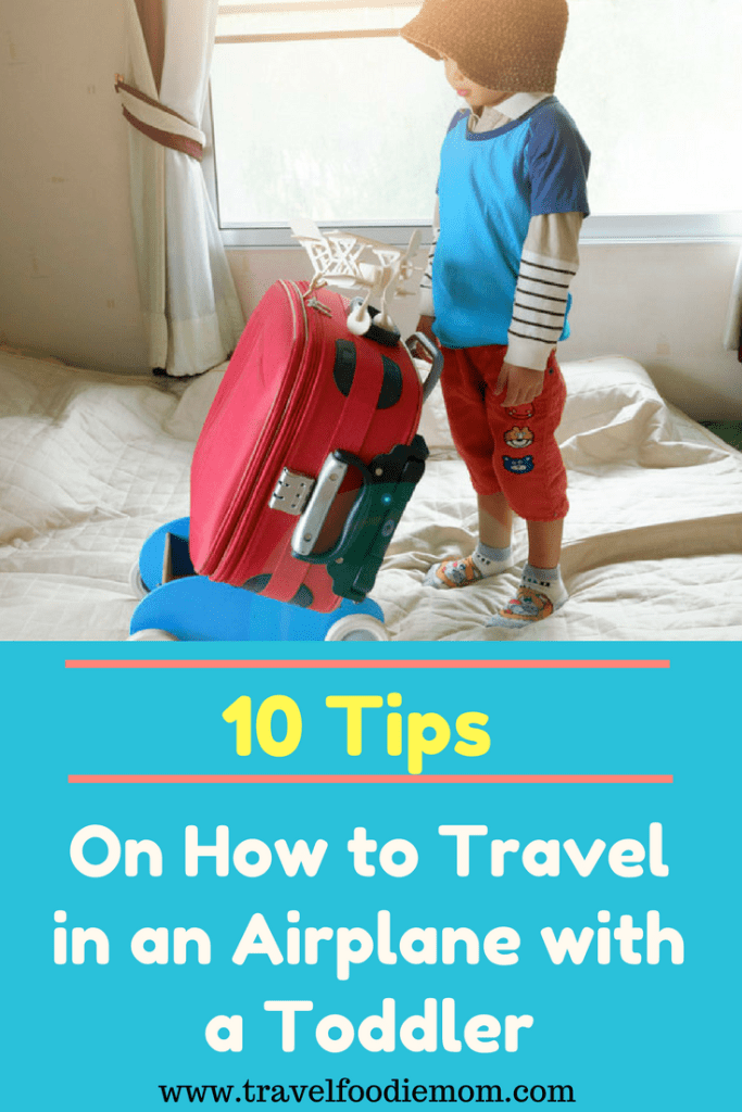 10 Tips on How to Travel in an Airplane with a Toddler
