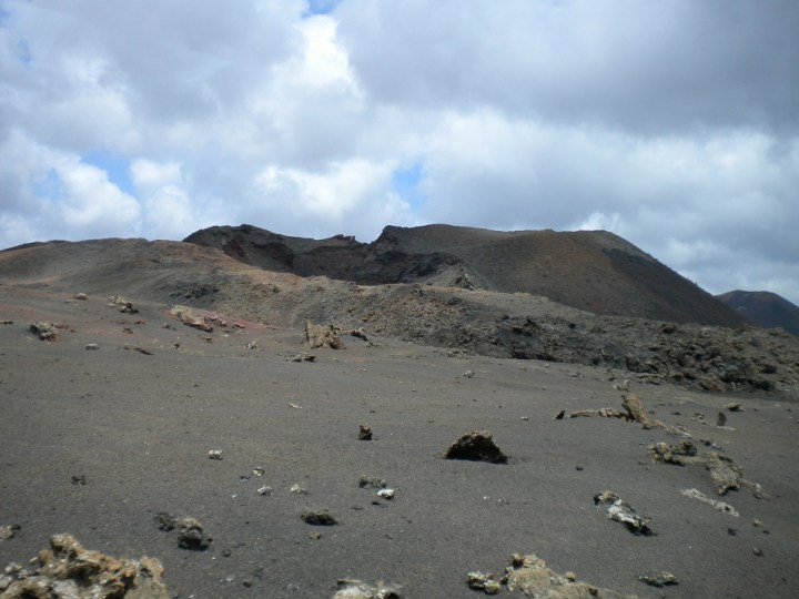 Volcanic landscape in Timanfaya National Park