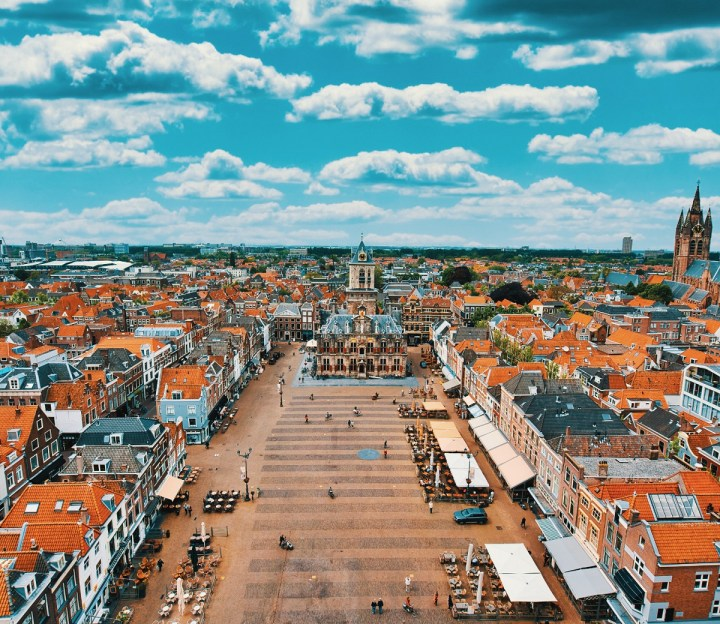 Delft is one of the best cities to visit in the Netherlands.