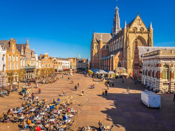 Grote Markt is one of the best things to do in Haarlem Netherlands