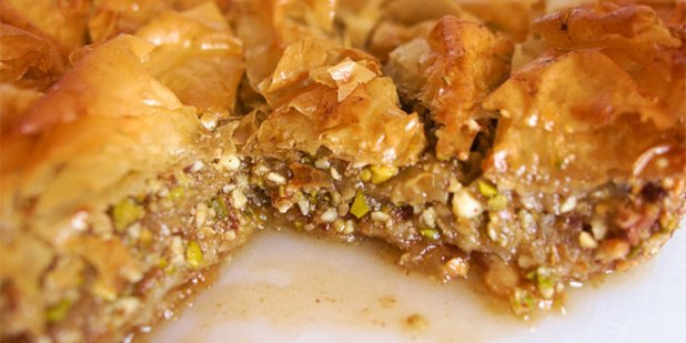 Baklava in Greece