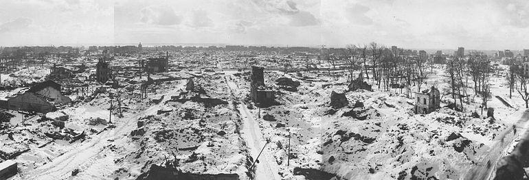 Le Havre Winter 1944-1945