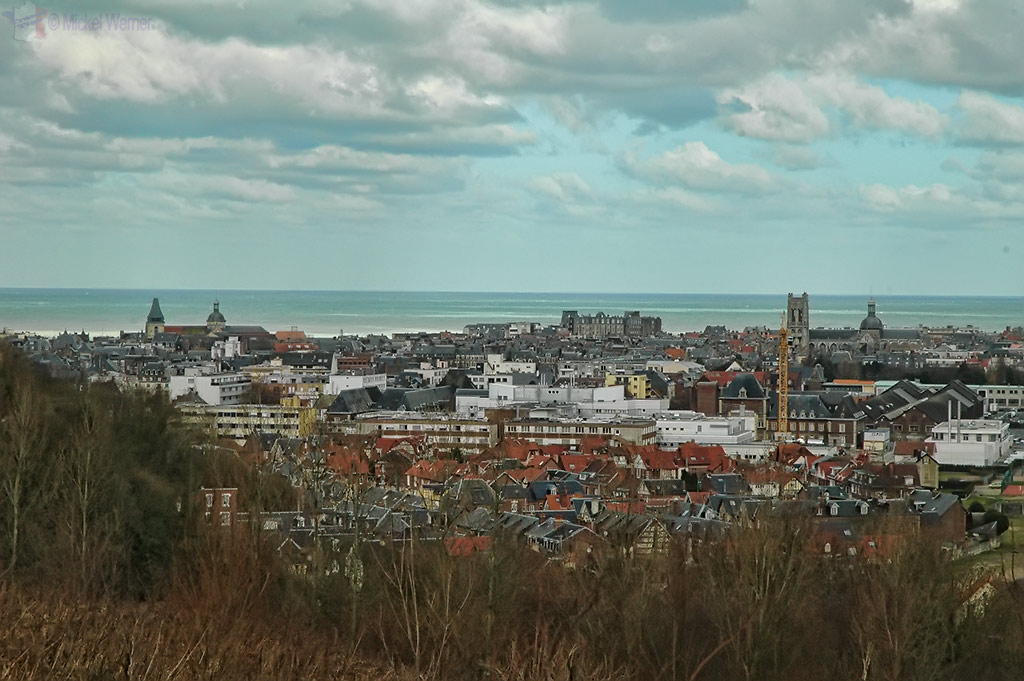 View of Dieppe from the hill
