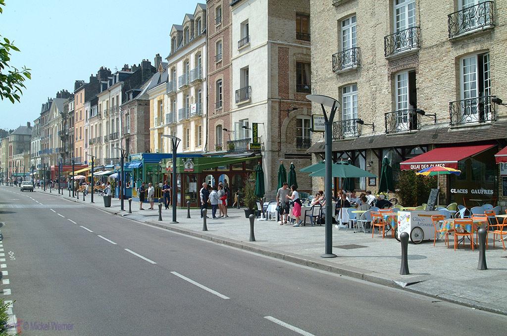 Harbour restaurants in Dieppe