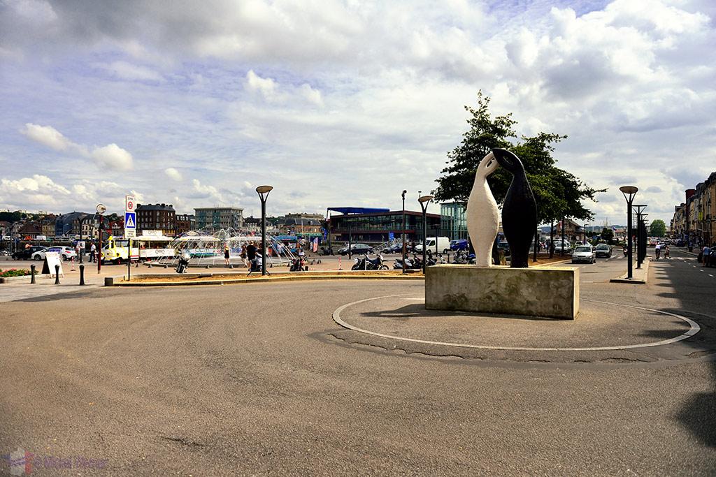 Peace monument of Dieppe