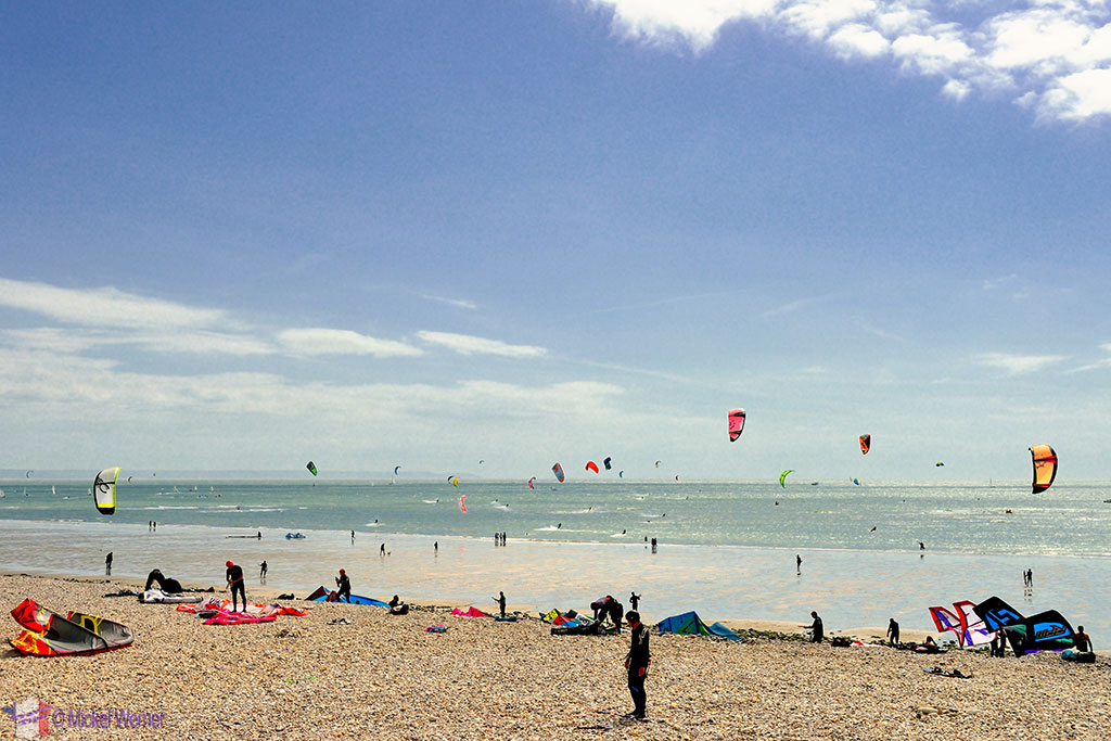 Le Havre kite surfing