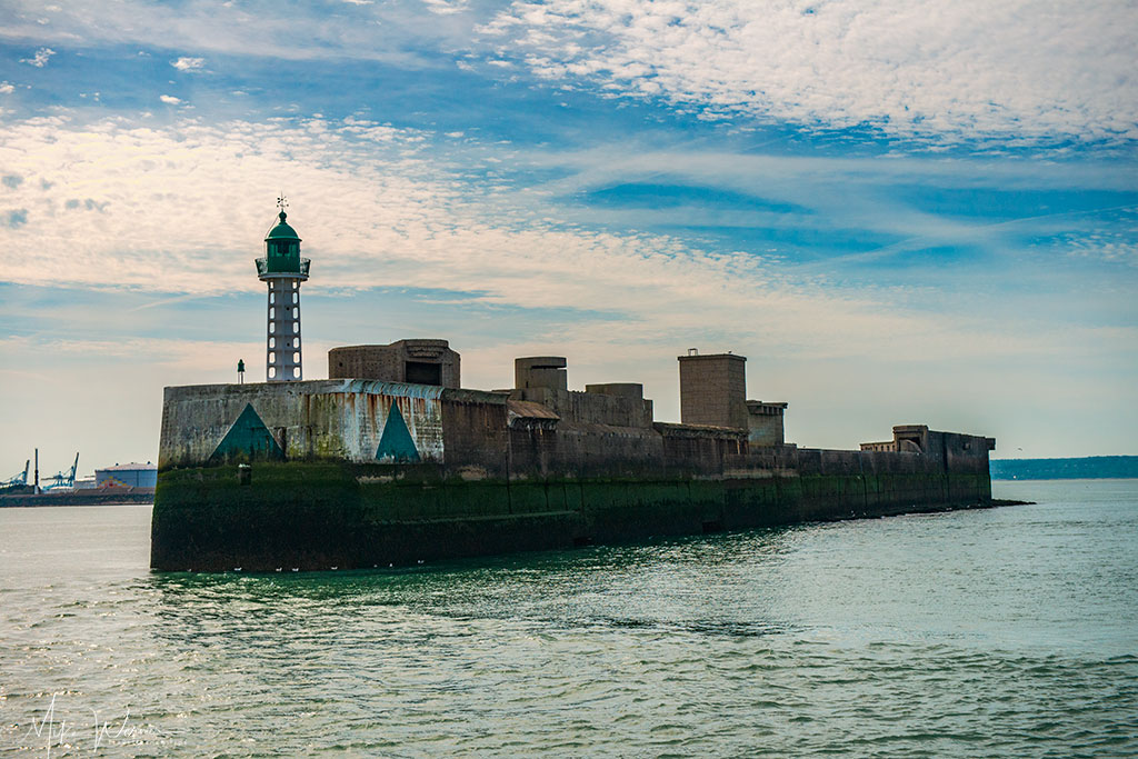 Lighthouse jetee Sud in Le Havre