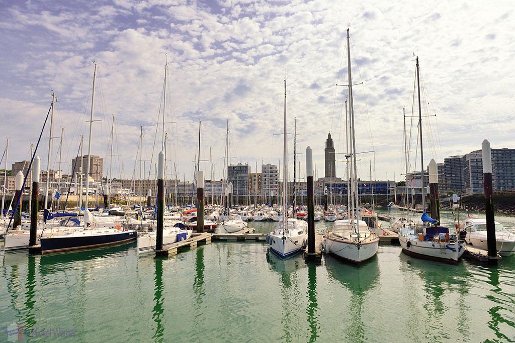 Le Havre pleasure boat harbour