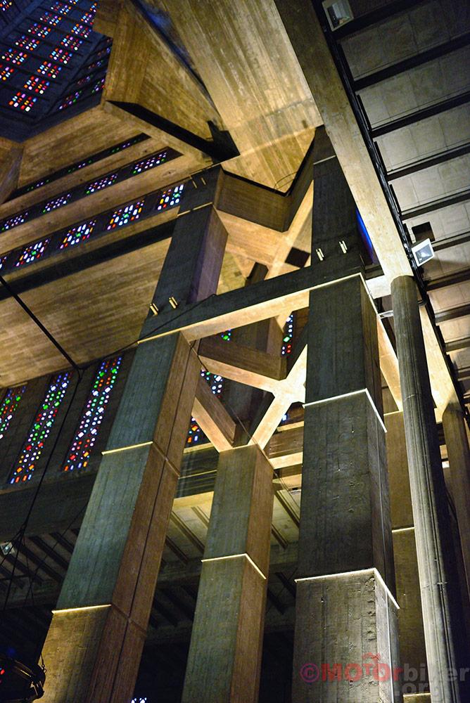 St. Jospeh church concrete beams