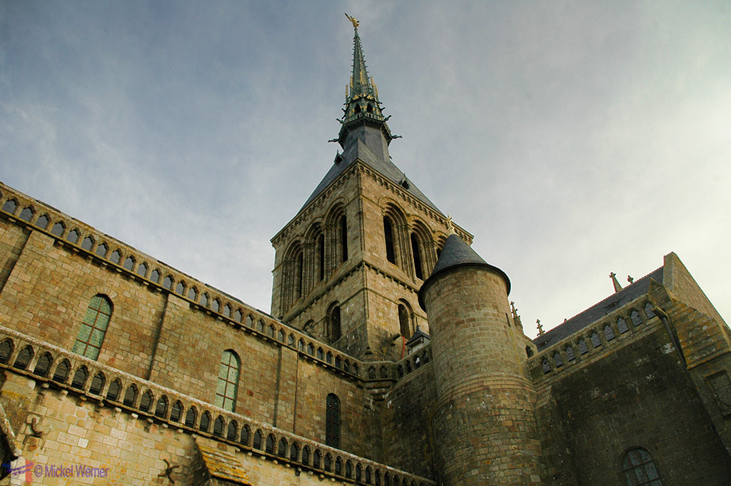 The monastery of Month St. Michel