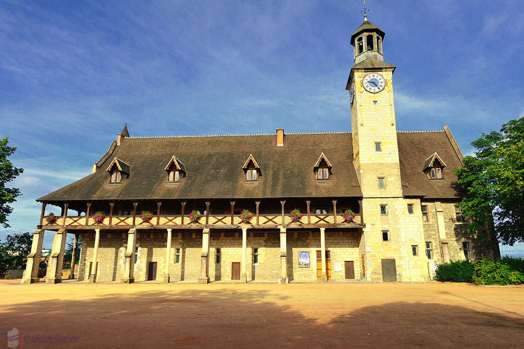 Montlucon's Duke of Bourbon Castle