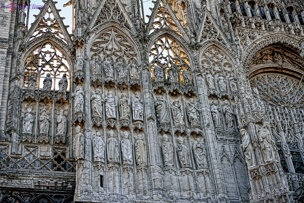 Notre Dame cathedral of Rouen