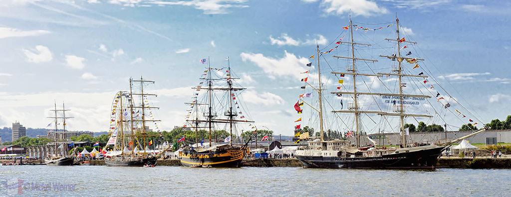 Grande Armada tall ships in Rouen
