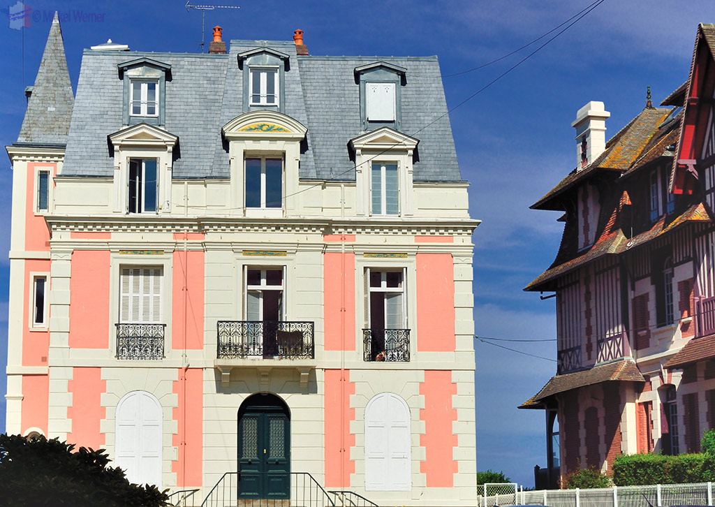 City mansion at Trouville-sur-Mer