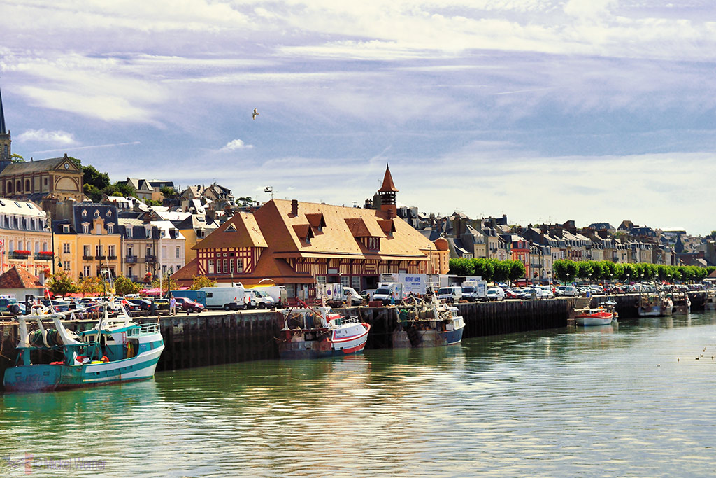 Fish market of Trouville-sur-Mer