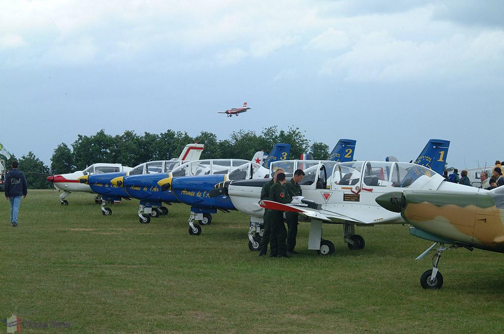 La Ferte Alais aeronautical show, vintage airplanes