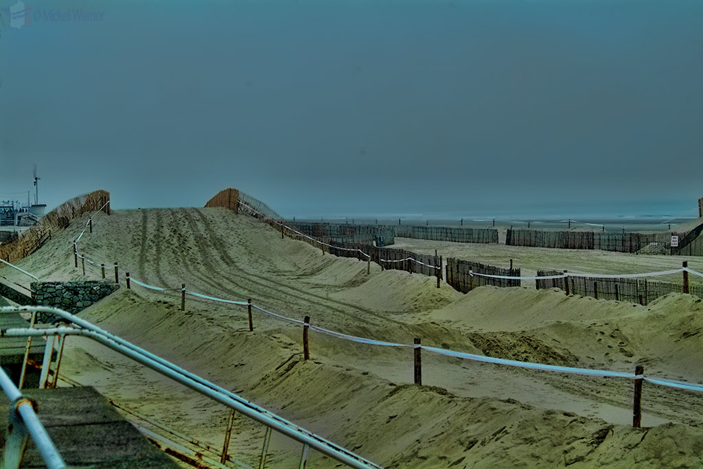 The beach circuit of Le Touquet Enduropale